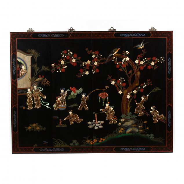 decorative-chinese-four-panel-wall-hanging