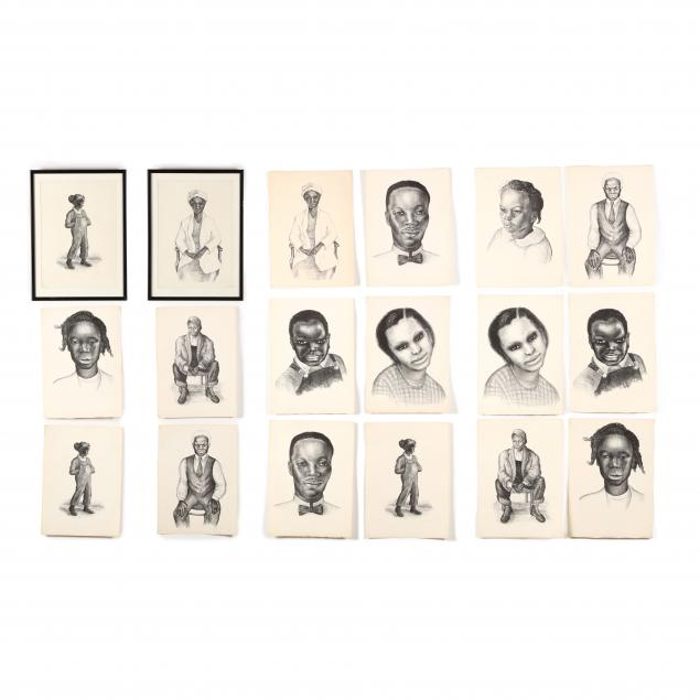 emma-bourne-ma-ct-1906-1986-sixteen-figural-lithographs
