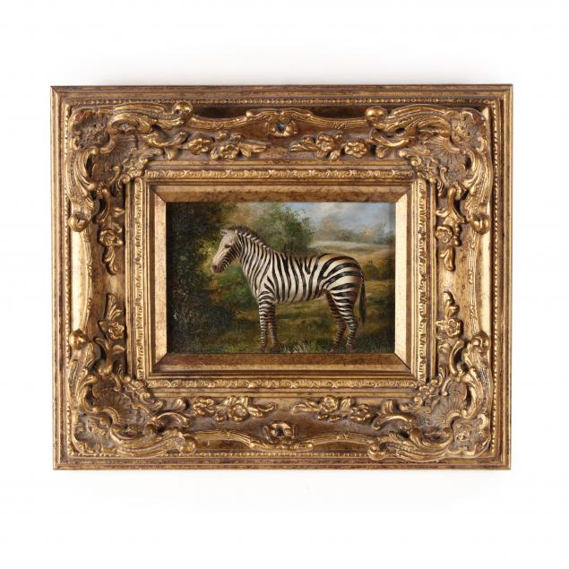 contemporary-decorative-painting-of-a-zebra