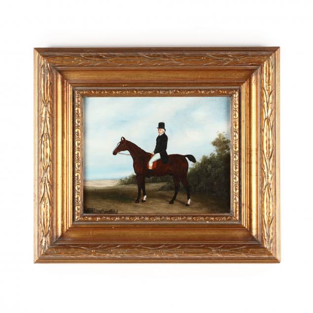 a-contemporary-decorative-equestrian-portrait-painting