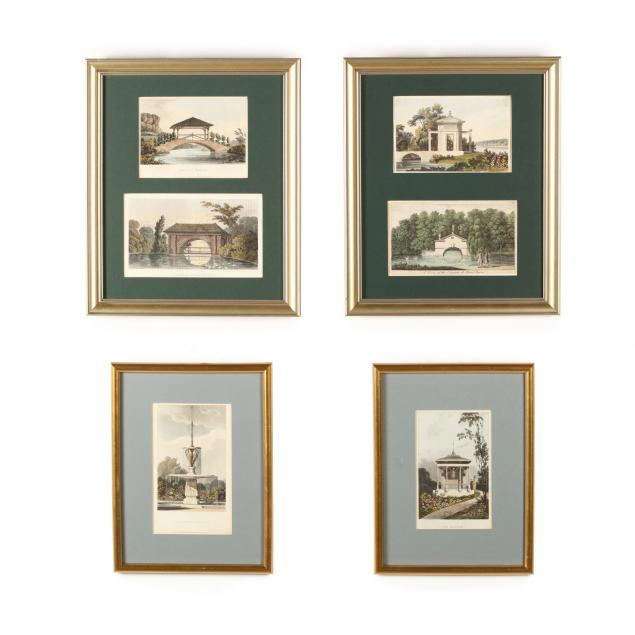 four-framed-engravings-from-i-ackermann-s-repository-of-arts-i