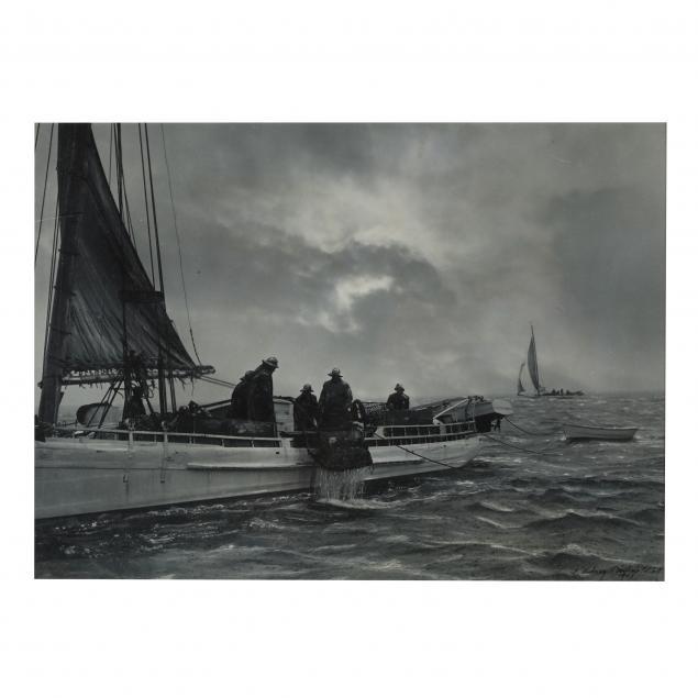 a-aubrey-bodine-american-1906-1970-i-choptank-oyster-dredgers-i