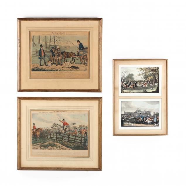 three-framed-fox-hunting-prints