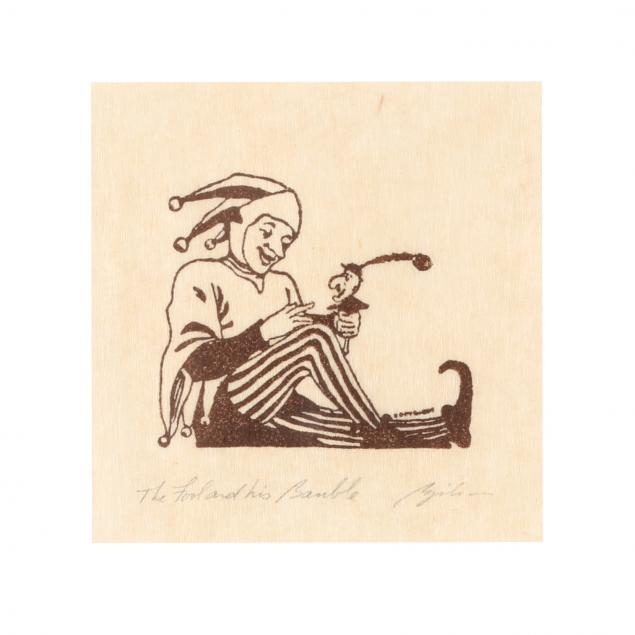 diminutive-print-titled-i-the-fool-and-his-bauble-i