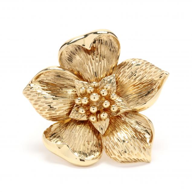 18kt-gold-flower-brooch-tiffany-co