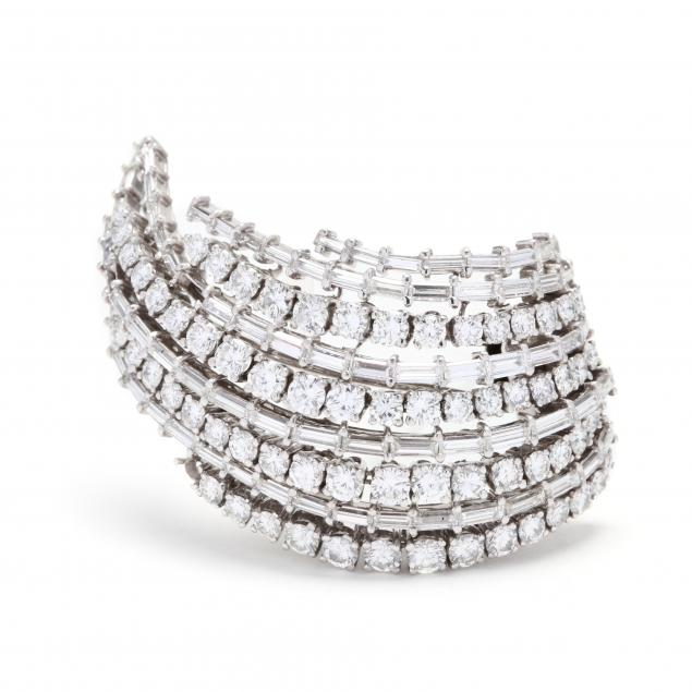 platinum-and-diamond-clip-brooch