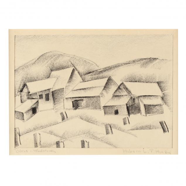 hobson-pittman-nc-pa-1899-1972-i-barns-woodstock-i