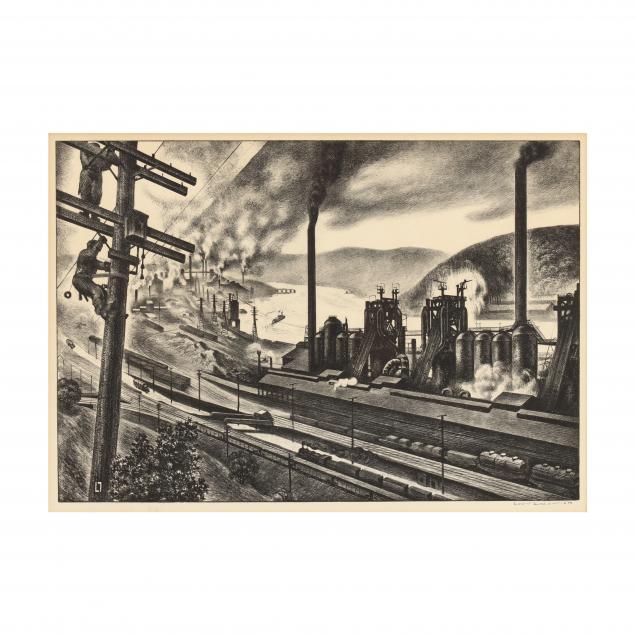 louis-lozowick-american-russian-1892-1973-i-steel-valley-i