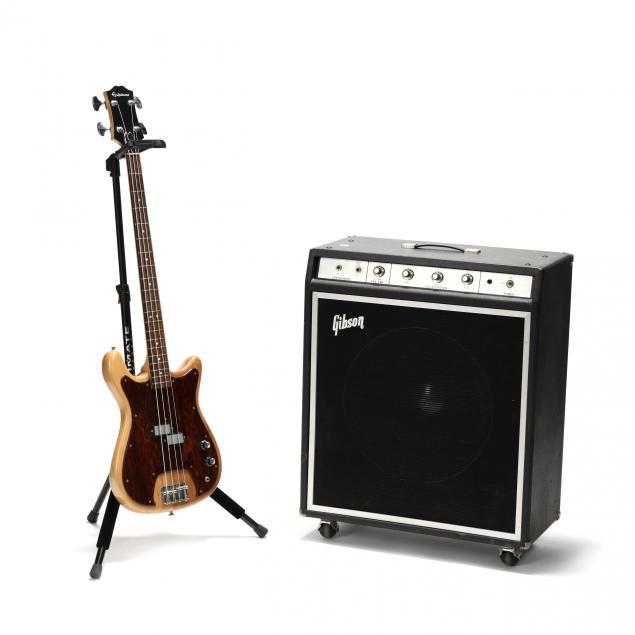 vintage-epiphone-ripper-bass-guitar-with-gibson-g-50-bass-amplifier