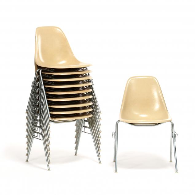 charles-and-ray-eames-set-of-ten-dss-chairs