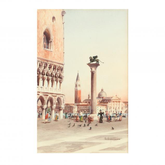 umberto-ongania-italian-1860-65-1896-st-mark-s-square