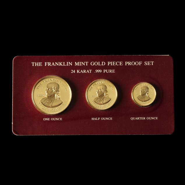 the-1980-franklin-mint-gold-piece-proof-set