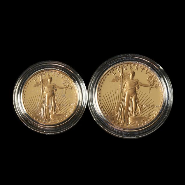 1987-proof-set-of-american-eagle-gold-ounce-and-half-ounce-coins