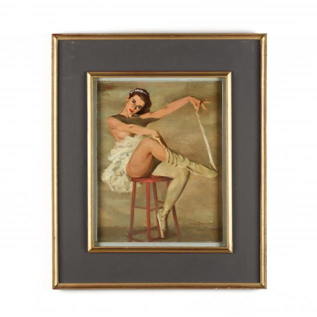 don-neiser-1918-2009-seated-ballerina