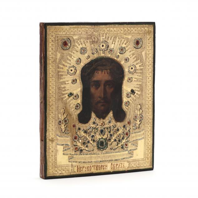 icon-of-the-mandylion-of-edessa-19th-century