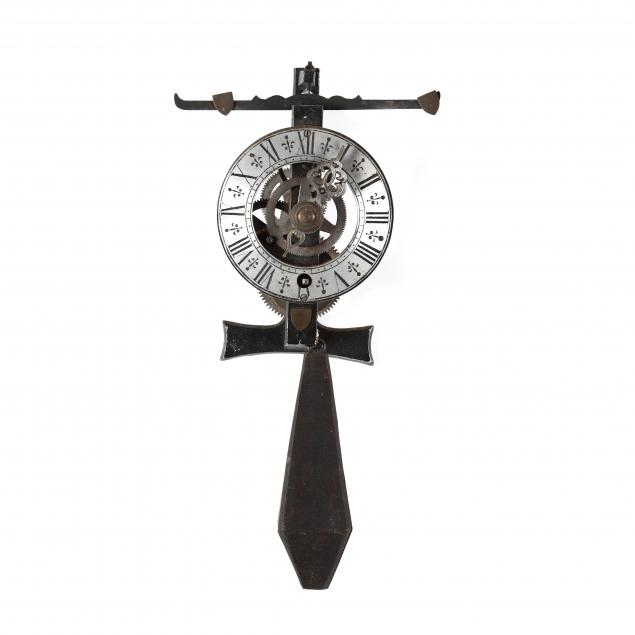 continental-style-skeleton-wall-clock