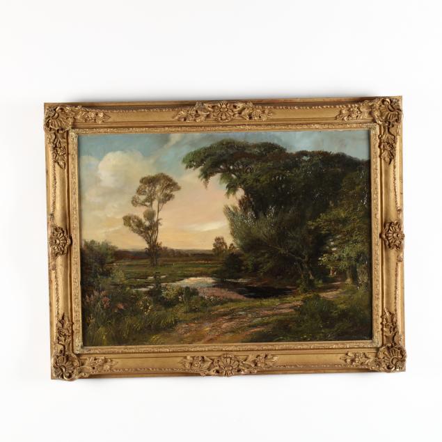 edwin-cole-british-1868-1935-landscape-with-figures