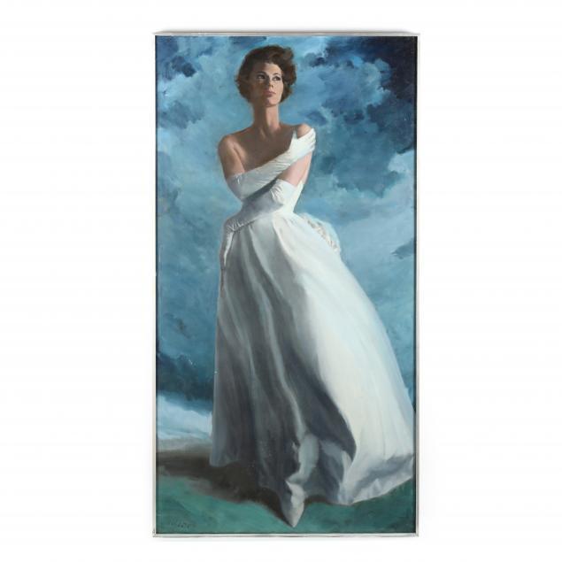 don-neiser-1918-2009-woman-in-blue