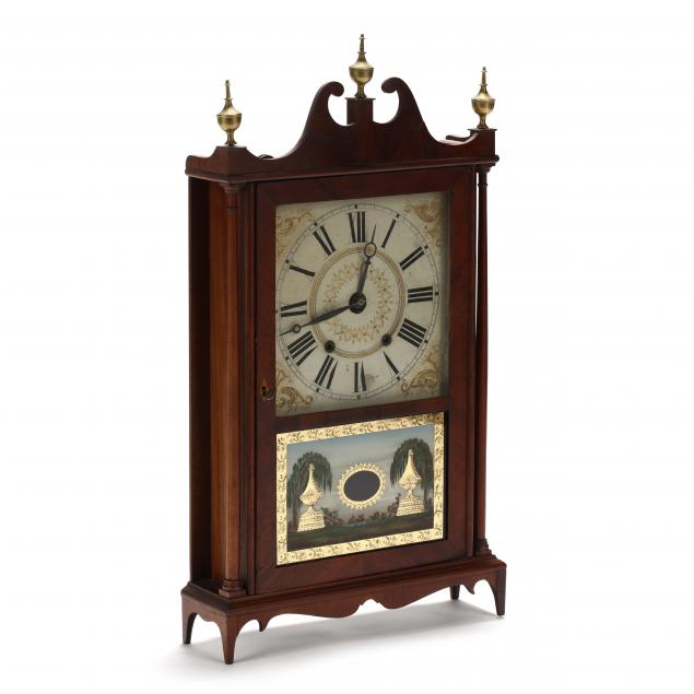 eli-terry-federal-mahogany-mantel-clock