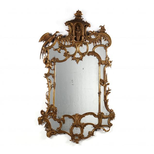 large-antique-italian-chinoiserie-gilt-mirror