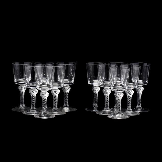 blenko-set-of-twelve-williamsburg-airtwist-water-goblets