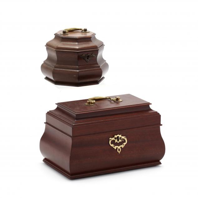 two-colonial-williamsburg-mahogany-boxes