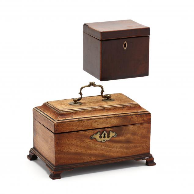 two-antique-english-mahogany-tea-caddies