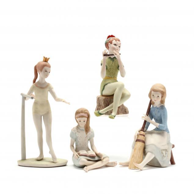 cybis-four-porcelain-figures
