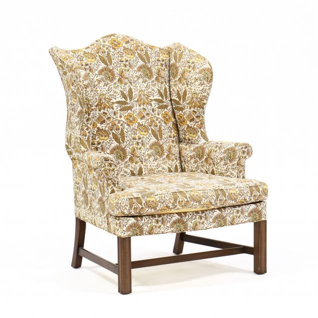 kittinger-chippendale-style-easy-chair