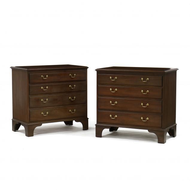 kittinger-williamsburg-adaptation-pair-of-mahogany-chests-of-drawers