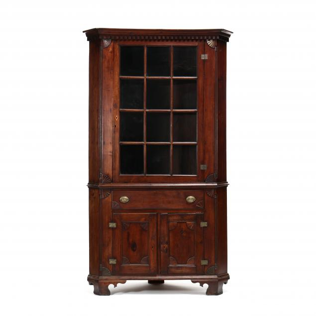 school-of-henry-macy-north-carolina-late-chippendale-walnut-corner-cupboard