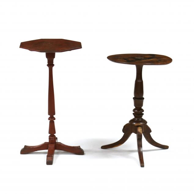 two-antique-candlestands