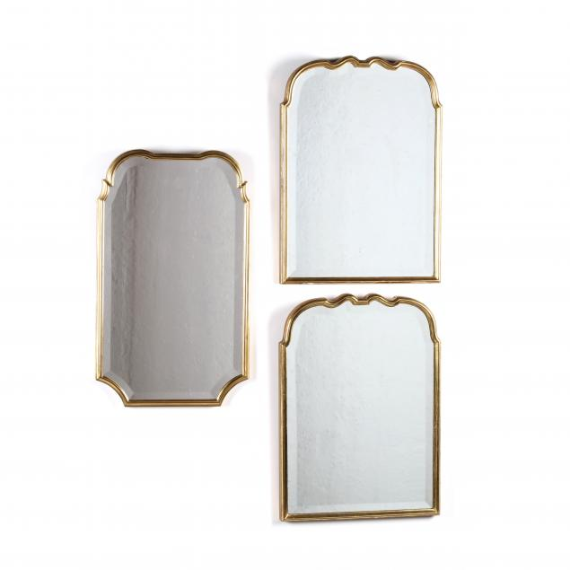 friedman-brothers-three-queen-anne-style-diminutive-gilt-mirrors