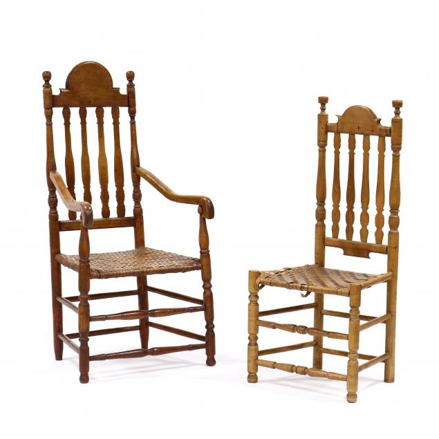 two-antique-american-banister-back-chairs