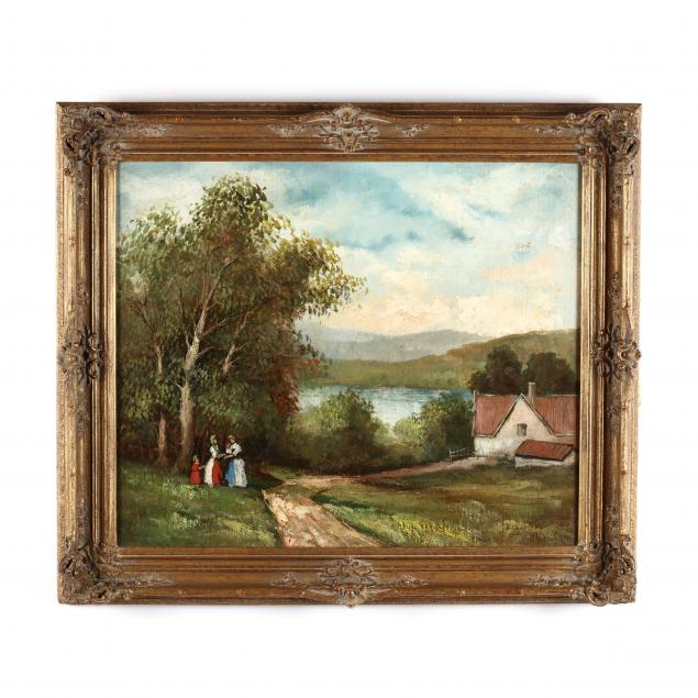 continental-school-impressionist-style-landscape