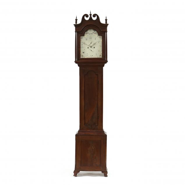 custom-chippendale-style-inlaid-walnut-tall-case-clock