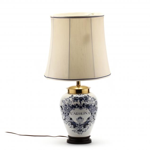 knob-creek-delft-tobacco-jar-table-lamp