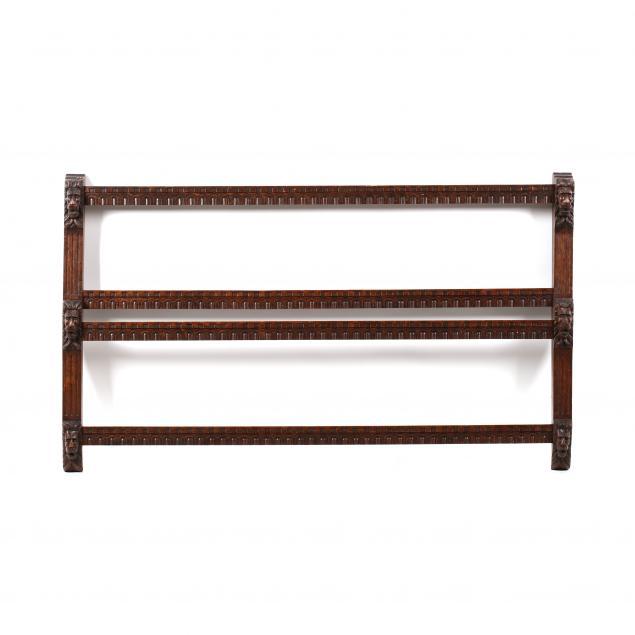 jacobean-style-carved-oak-plate-rack