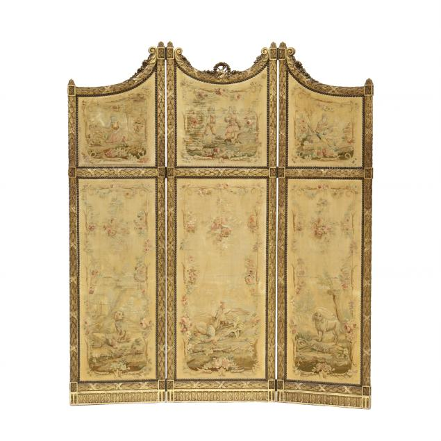 antique-french-carved-and-gilt-three-panel-floor-screen