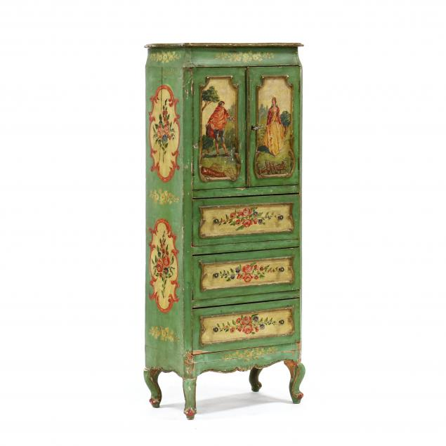 venetian-diminutive-painted-dressing-cabinet
