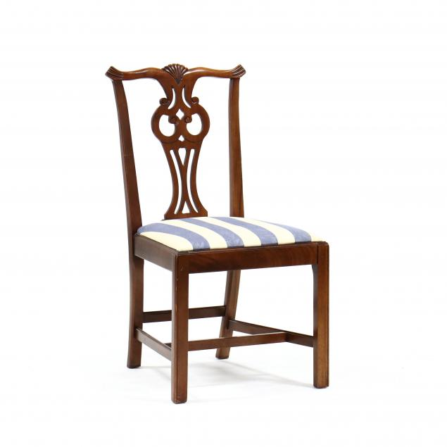 chippendale-style-carved-mahogany-side-chair