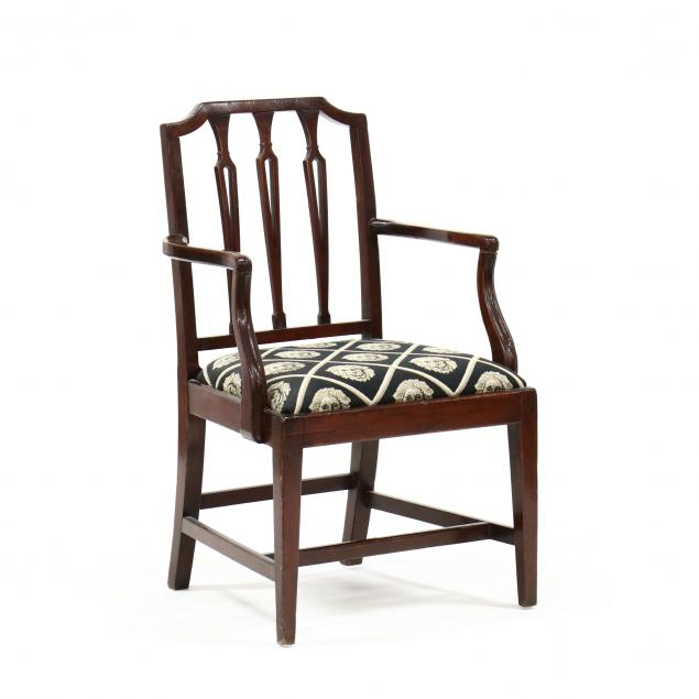 hepplewhite-style-mahogany-armchair