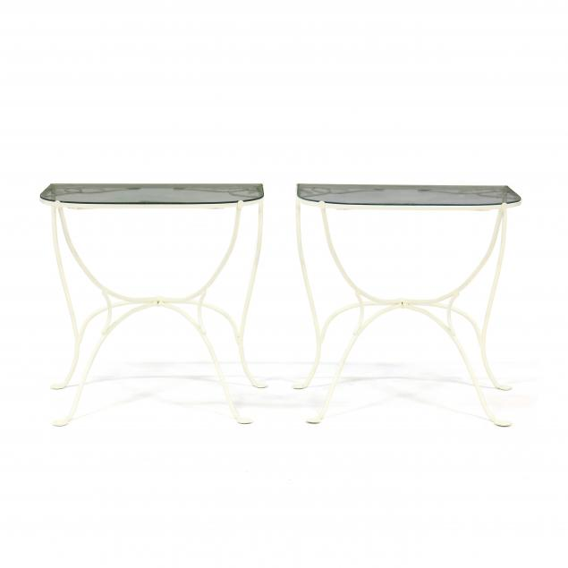 pair-of-iron-and-glass-demilune-tables