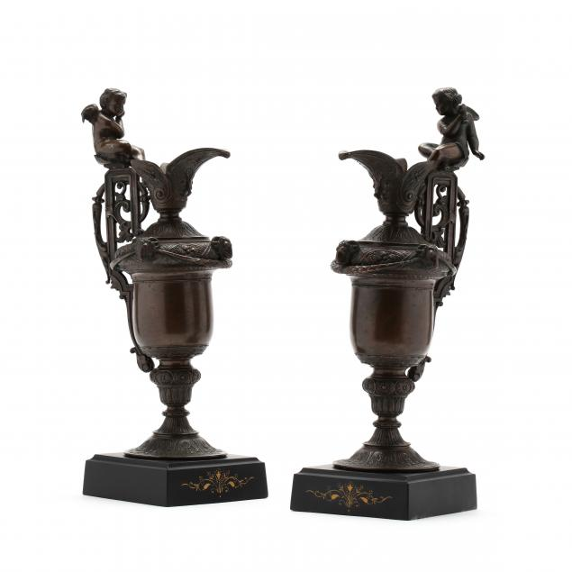 pair-of-neoclassical-style-bronze-tone-ewers