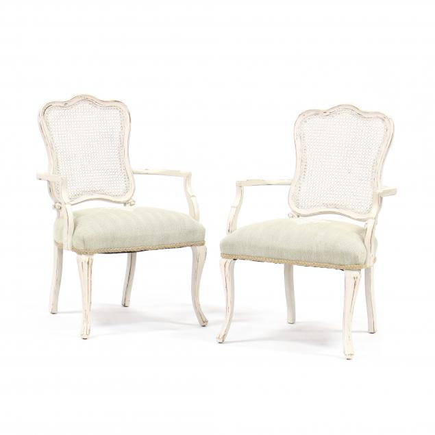 pair-of-french-provincial-style-painted-fauteuil