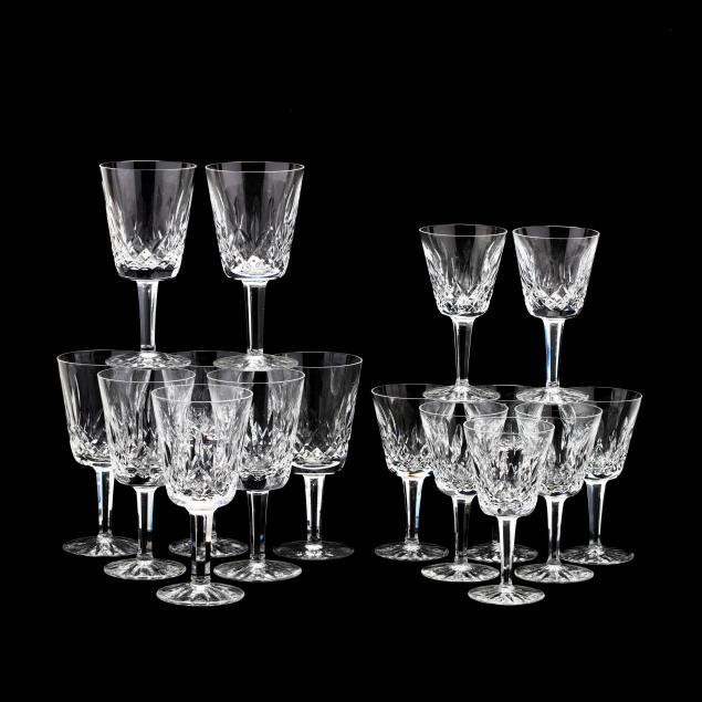 waterford-lismore-crystal-stemware