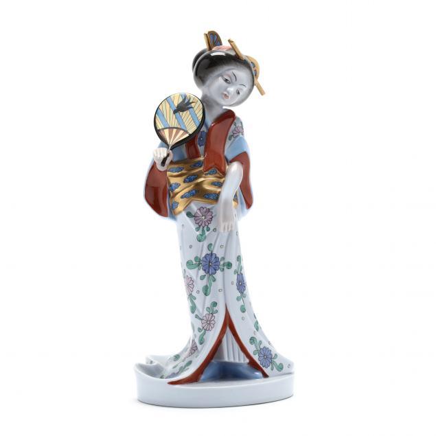 herend-porcelain-geisha