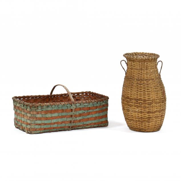 two-large-antique-baskets