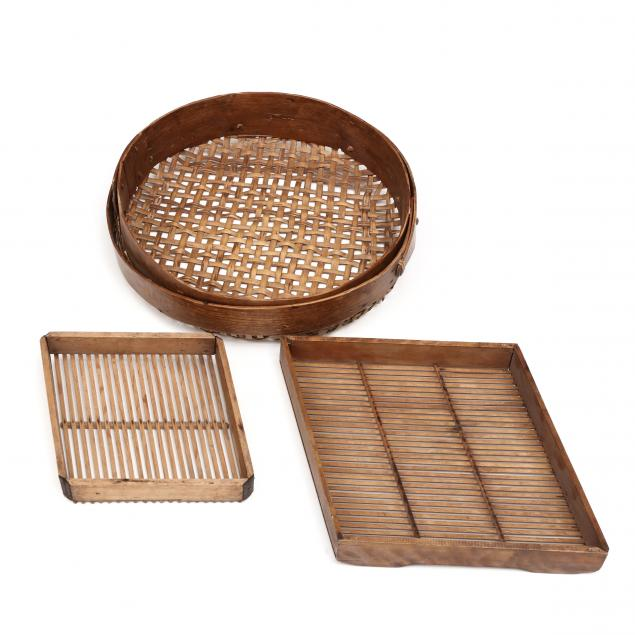 three-antique-sifting-trays