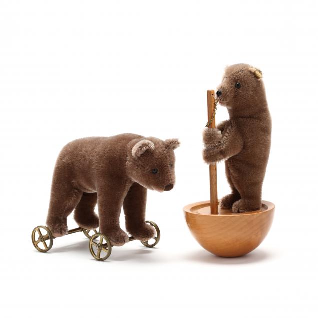 two-steiff-bear-toys